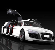 Audi R8 Limo Hire in West London, Middlesex