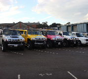 Jeep Limos and 4x4 Limos in East London