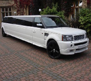 Range Rover Limo in East London